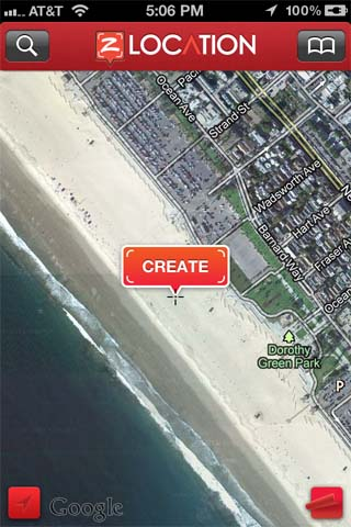 Create zLocation iPhone